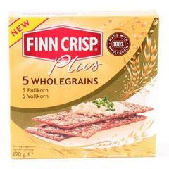 FINN CRISP THIN FIVE WHOLE GRAIN THIN CRISPBREAD