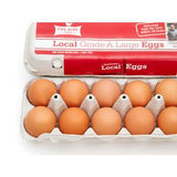 FIVE ACRE LARGE BROWN EGGS