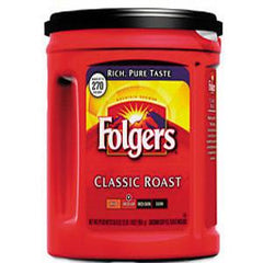 FOLGERS CLASSIC ROAST MEDIUM DARK COFFEE