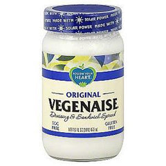 FOLLOW YOUR HEART SOY FREE VEGENAISE DRESSING & SANDWICH SPREAD