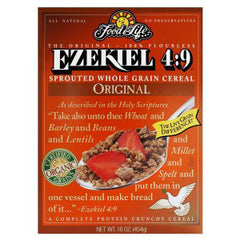 FOOD FOR LIFE EZEKIEL 4:9  ALMOND CEREAL