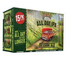 FOUNDERS BREWING CO ALL DAY IPA SESSION ALE BEER - 15 PACK - 102 FL OZ CANS