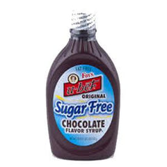 FOX'S U-BET ORIGINAL SUGAR FREE CHOCOLATE FLAVOR SYRUP