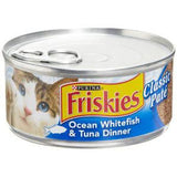 FRISKIES       OCEAN WHITEFISH & TUNA DINNER - CLASSIC PATE