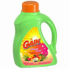 GAIN 2X ISLAND FRESH LIQUID DETERGENT 32 LOADS