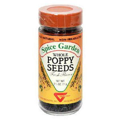 SPICE GARDEN WHOLE POPPY SEEDS