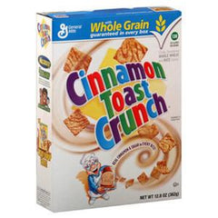 GENERAL MILLS CINNAMON TOAST CRUNCH CEREAL