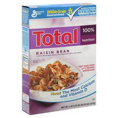 GENERAL MILLS TOTAL RAISIN BRAN