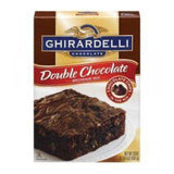 GHIRARDELLI DOUBLE CHOCOLATE BROWNIE