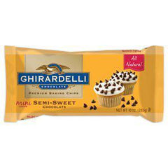 GHIRARDELLI MINI SEMI-SWEET CHOCOLATE CHIPS BAKING BAR