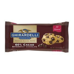 GHIRARDELLI 60% CACAO CHOCOLATE PREMIUM BAKING CHIPS