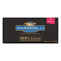 GHIRARDELLI BAR CACAO CHOCOLATE