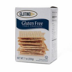 GLUTINO GLUTEN FREE SEA SALT SNACK CRACKERS