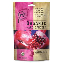 GO NATURAL ORGANIC POMEGRANATE CANDIES