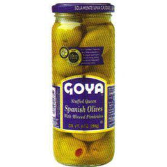 GOYA STUFFED SPANISH OLIVES WITH MINCED PIMIENTOS
