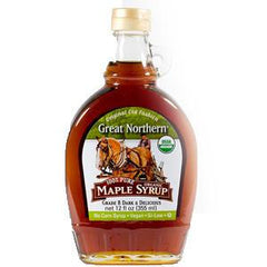 GREAT NORTHERN ORGANIC MAPLE SYRUP GRADE B