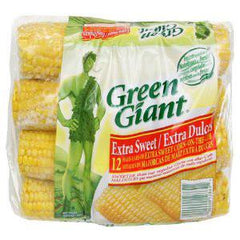 GREEN GIANT CORN ON THE COB - EXTRA SWEET