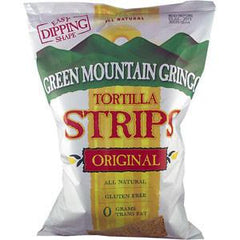 GREEN MOUNTAIN GRINGO ALL NATURAL YELLOW CORN TORTILLA STRIPS