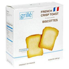 GRILLE FRENCH CRISP TOAST CRACKERS