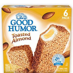 GOOD HUMOR TOASTED ALMOND ICE CREAM BARS