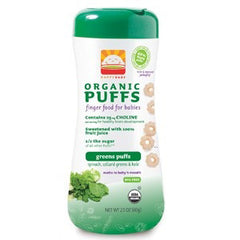 HAPPYBABY ORGANIC PUFFS APPLE PUFFS
