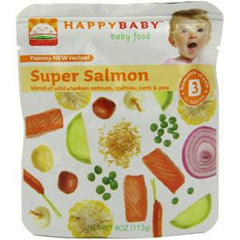 HAPPYBABY # 3 SUPER SALMON BABY FOOD