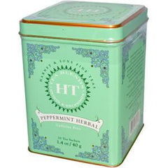 HARNEY & SONS FINE TEAS CHOCOLATE MINT - BLACK TE A W/CHOCOLATE & PEPERMINT