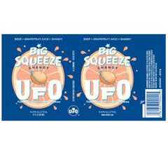 HARPOON UFO BIG SQUEEZE SHANDY BEERT + GRAPEFRUIT JUICE 12 PACK - 12 FL OZ