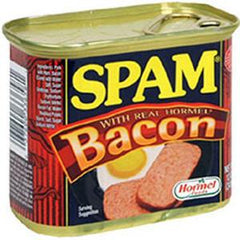 HORMEL SPAM WITH BACON