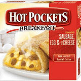 HOT POCKETS SAUSAGE EGG & CHEESE
