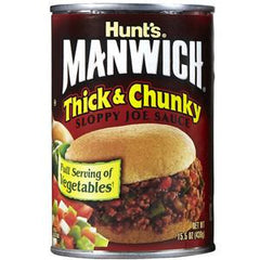HUNT'S MANWICH THICK & CHUNKY SLOPPY JOE SAUCE