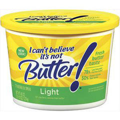 I CAN'T BELIEVE IT'S NOT BUTTER LIGHT FRESH BUTTER TASTE