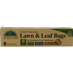 IF YOU CARE LAWN & LEAF BAGS TIE STRIP - 33 GALLONS
