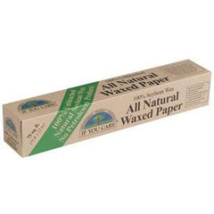 IF YOU CARE ALL NATURAL WAXED PAPER UNBLEACHED - 75 SQ FT