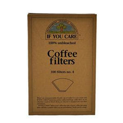 IF YOU CARE UNBLEACHED COFFEE FILTERS #4