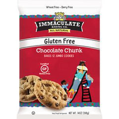 IMMACULATE BAKING CO ALL NATURAL CHOCOLATE CHUNK JUMBO COOKIE DOUGH