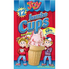 JOY JUMBO CUPS 12 COUNT