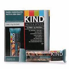 KIND NUTS & SPICES DARK CHOCOLATE CINNAMON PECAN  GRANOLA BAR