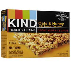 KIND OATS & HONEY WITH TOASTED COCONUT GLUTEN FREE GRANOLA BAR