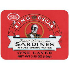 KING OSCAR SARDINE IN WATER