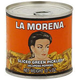 LA MORENA SLICED GREEN JALAPENO