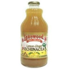 LAKEWOOD ORGANIC COLD & FLU LEMON GINGER JUICE