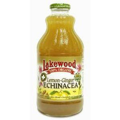 LAKEWOOD ORGANIC LEMON - GINGER ECHINACEA JUICE