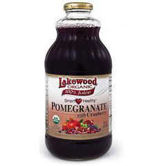 LAKEWOOD ORGANIC POMEGRANATE WITH CRANBERRY JUICE