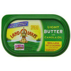 LAND O LAKES CANOLA OIL BUTTER SALTED