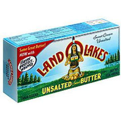 LAND O LAKES UNSALTED SWEET BUTTER