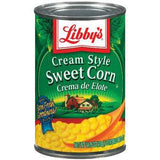 LIBBY'S CREAM STYLE SWEET CORN