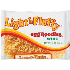 LIGHT & FLUFFY EGG NOODLES WIDE