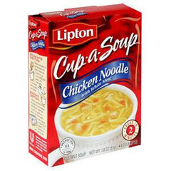 LIPTON CUP-A-SOUP CHICKEN NOODLE WITH WHITE MEAT