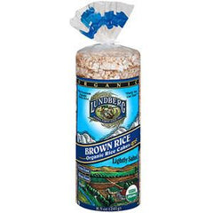 LUNDBERG ORGANIC BROWN RICE RICE CAKE
